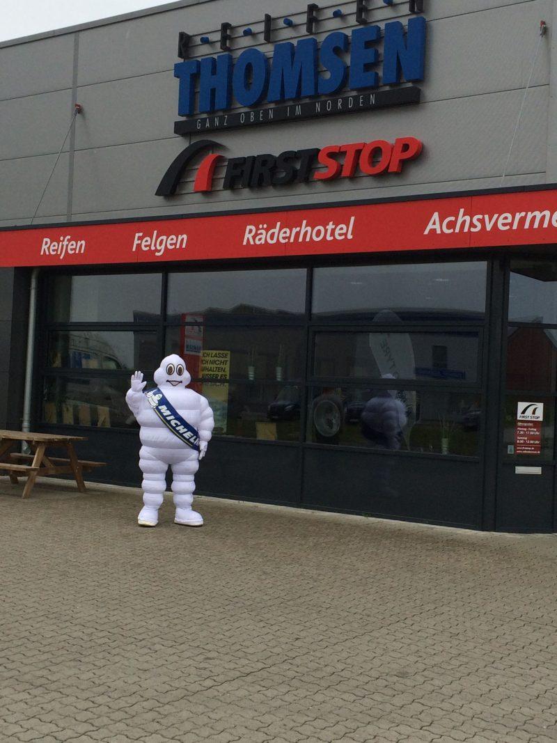 MichelinMann zu Besuch in Niebüll1